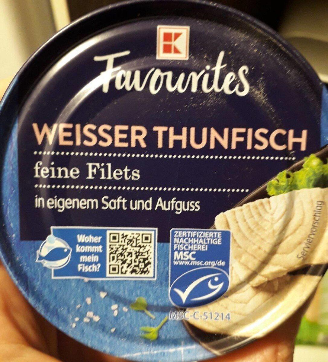 Weisser Thunfisch - Produkt - de