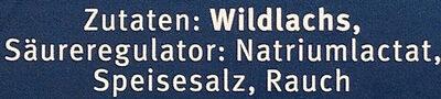 Wildlachs, Kodiak, Smoked - Ingredients - de