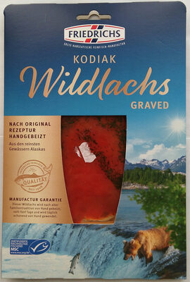 Kodiak Wildlachs Graved - Product - de
