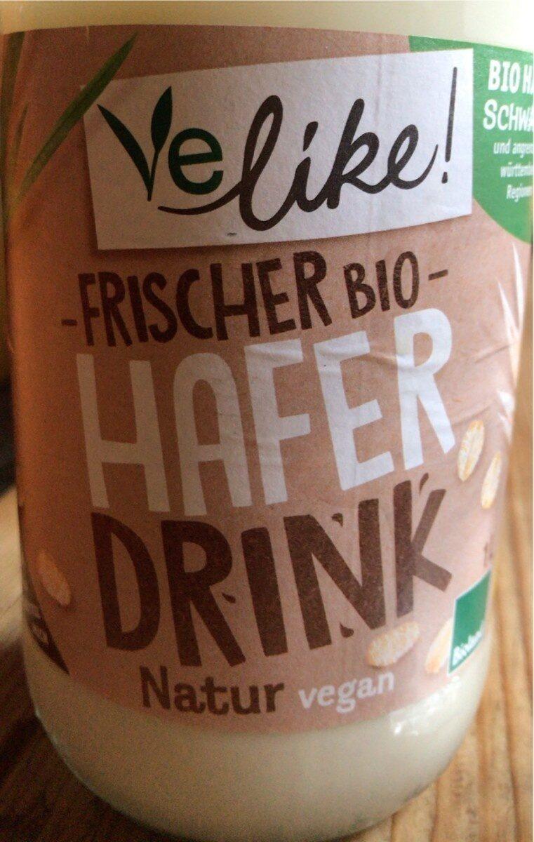 Frischer Bio Hafer Drink - Produkt - de