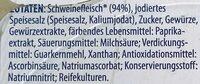 Pikante Zwiebelmettwurst - Zutaten - de
