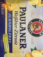 Biere blanche sans alcool au citron - Produit - fr
