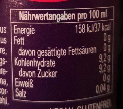 Paulaner Spezi - Voedingswaarden - de