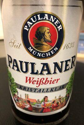 Paulaner Weißbier Kristallklar - Produit - fr