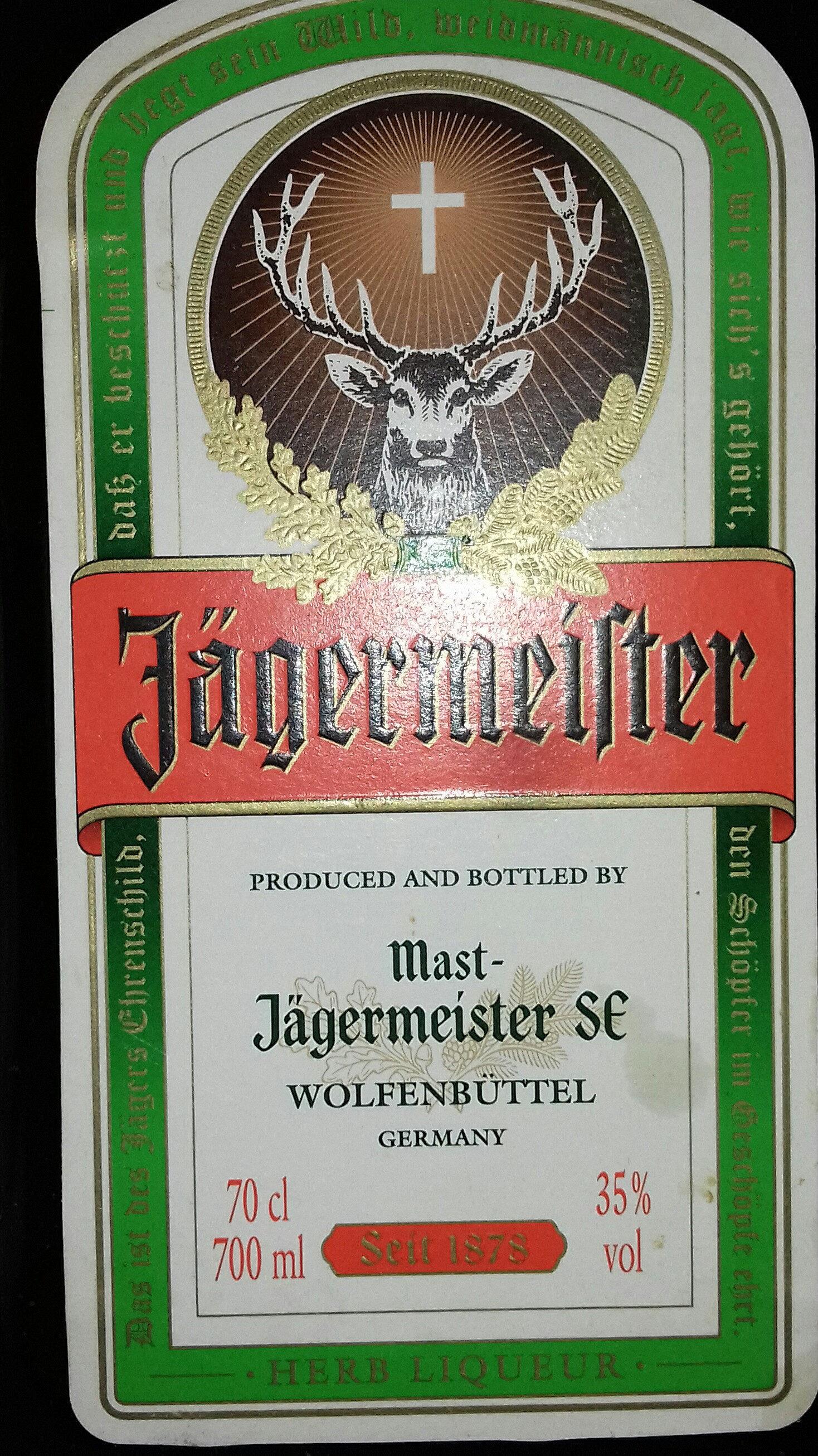 jägermeister - Produit