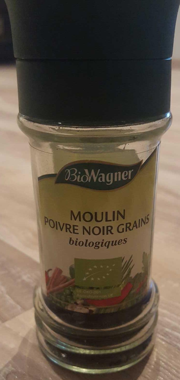 Moulin Poivre Noir en Grains Biologique - Product - fr
