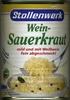 Weinsauerkraut - Produit