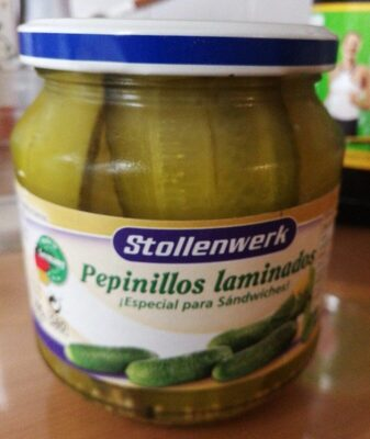 Pepinillos laminados - Produit