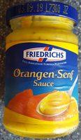 Orangen-Senf Sauce - Produkt
