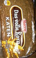 Roggenvollkornbrot mit Natursauerteig gebacken - Produit - de