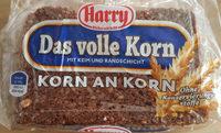 Das volle Korn KORN AN KORN - Produkt