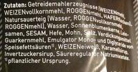 Weltmeister Mehrkorn - Inhaltsstoffe - de