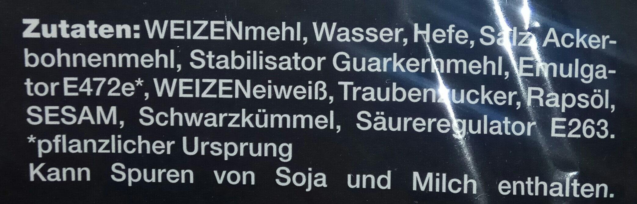 Fladenbrot - Inhaltsstoffe - de