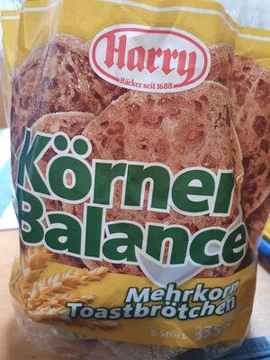 Körner Balance Mehrkorn Toastbrötchen - Produkt - de