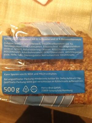 Harry Eiweiß-Brot - Ingredienti - de