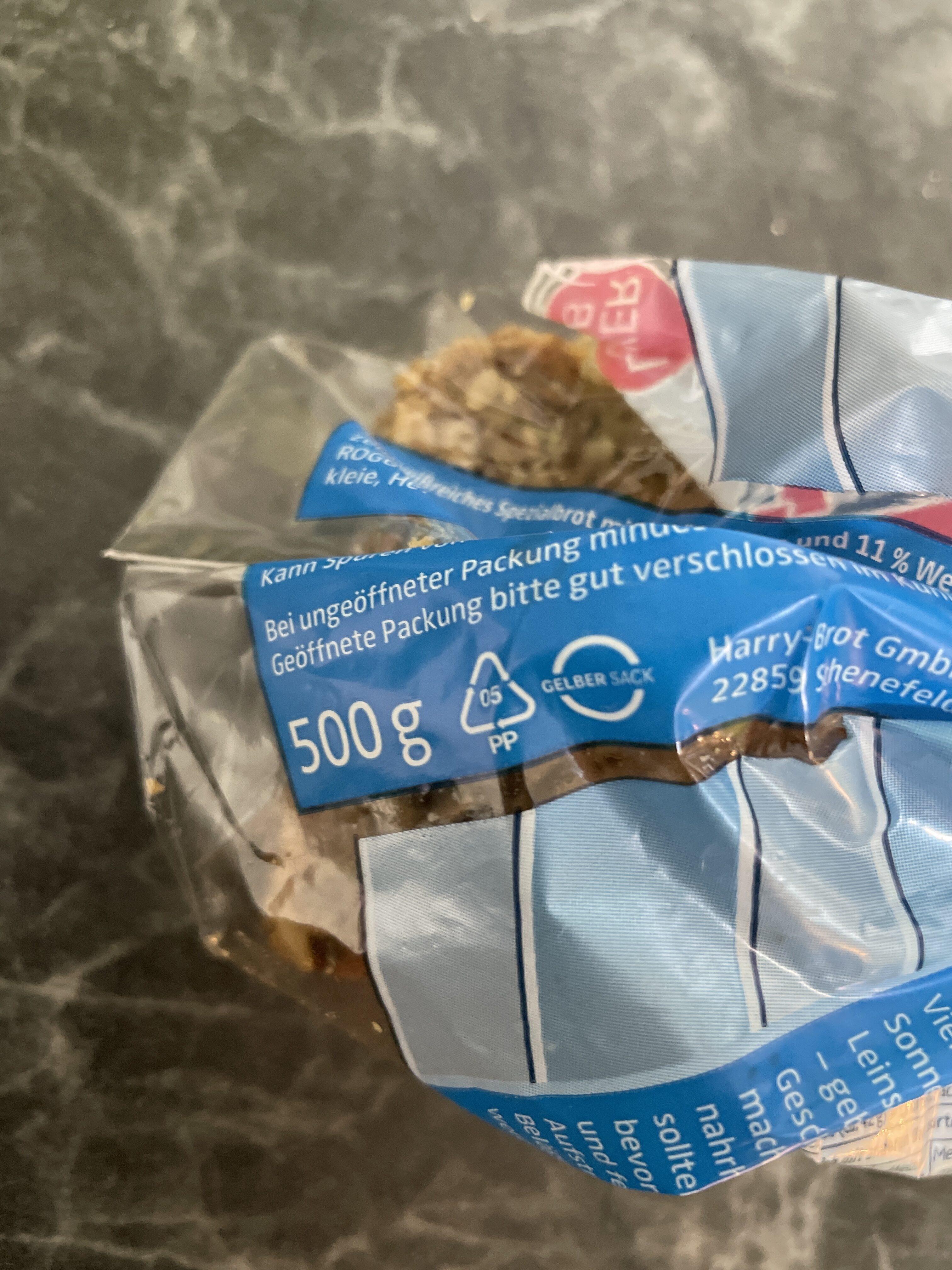 Harry Eiweiß-Brot - Istruzioni per il riciclaggio e/o informazioni sull'imballaggio - de