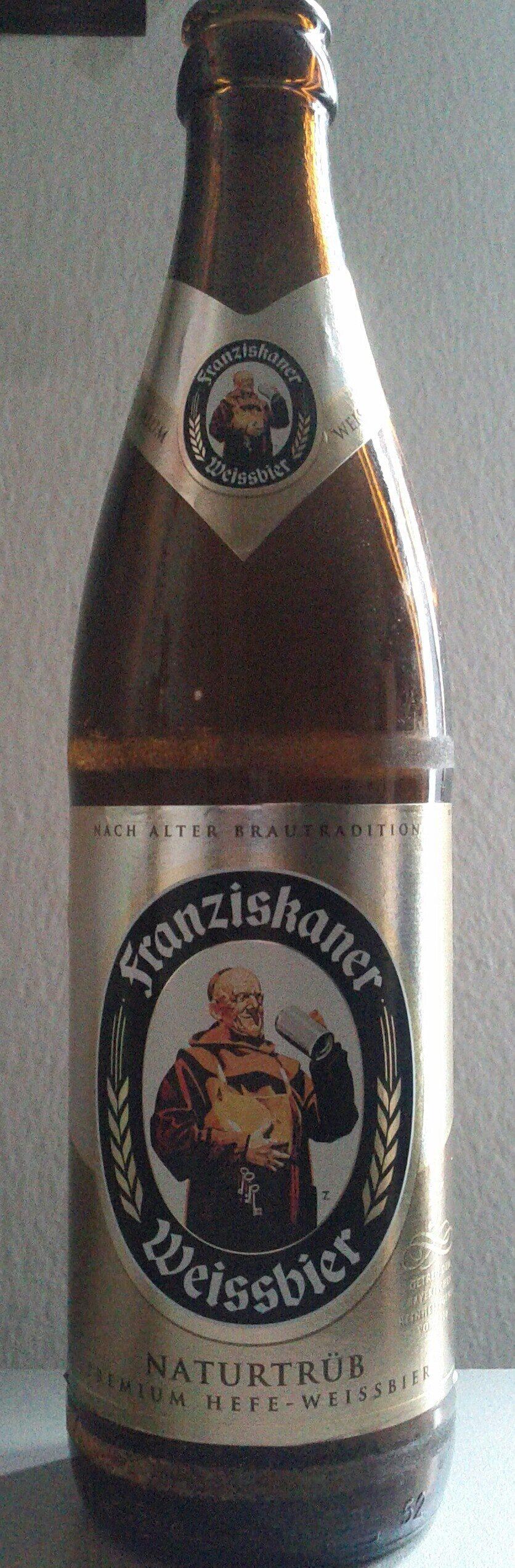 Franziskaner Weissbier Naturtrüb - Product - de