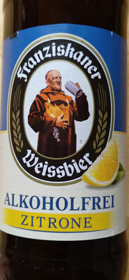 Franziskaner Weißbier alkoholfrei Zitrone - Product