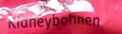 Rote Kidneybohnen - Inhaltsstoffe - de