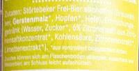 Strandräuber Zitrone - Inhaltsstoffe