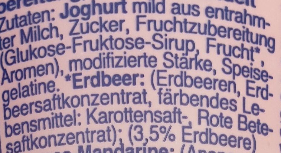 Fit Erdbeer - Ingrediënten - de