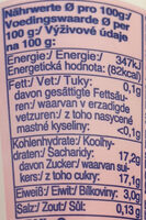 Fit Erdbeer - Voedingswaarden - de