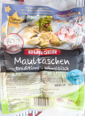 Maultaschen traditionell schwäbisch - Produkt