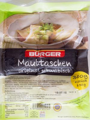 Maultaschen original schwäbisch - Produkt - de