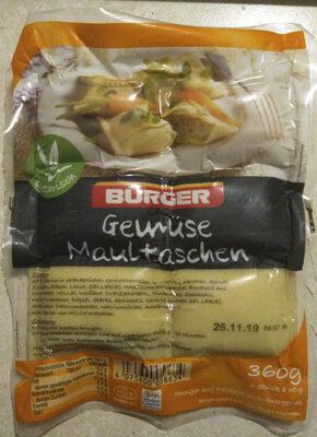Gemüse Maultaschen - Product - de