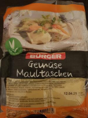 Gemüse Maultaschen - Prodotto - de