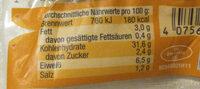 Gemüse Maultaschen - Nutrition facts - de