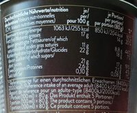 Coffe Delight - Nutrition facts