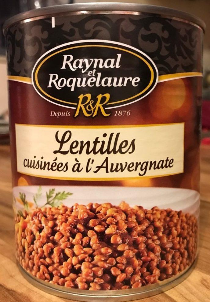 Lentilles cuisinées a l'auvergnate - Product - fr