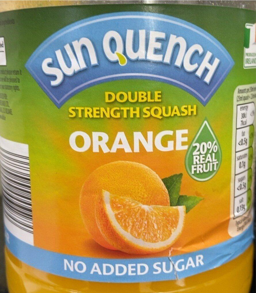 Orange squash - Product - en