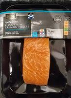 2 Scottish salmon fillets - Product
