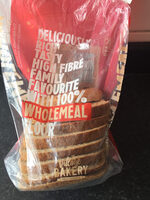 Wholemeal medium sliced - Product