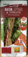 Deep filled Bacon, lettuce & tomato with mayonnaise - Produit - fr