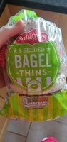 6 seed bagel thins - Product - en