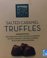 Salted caramel truffles - Produit - en