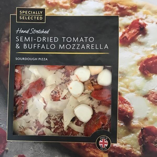 Semi-dried tomato & buffalo mozzarella sourdough pizza - Produit - en
