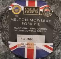 Pork pie Melton Mowbray - Product