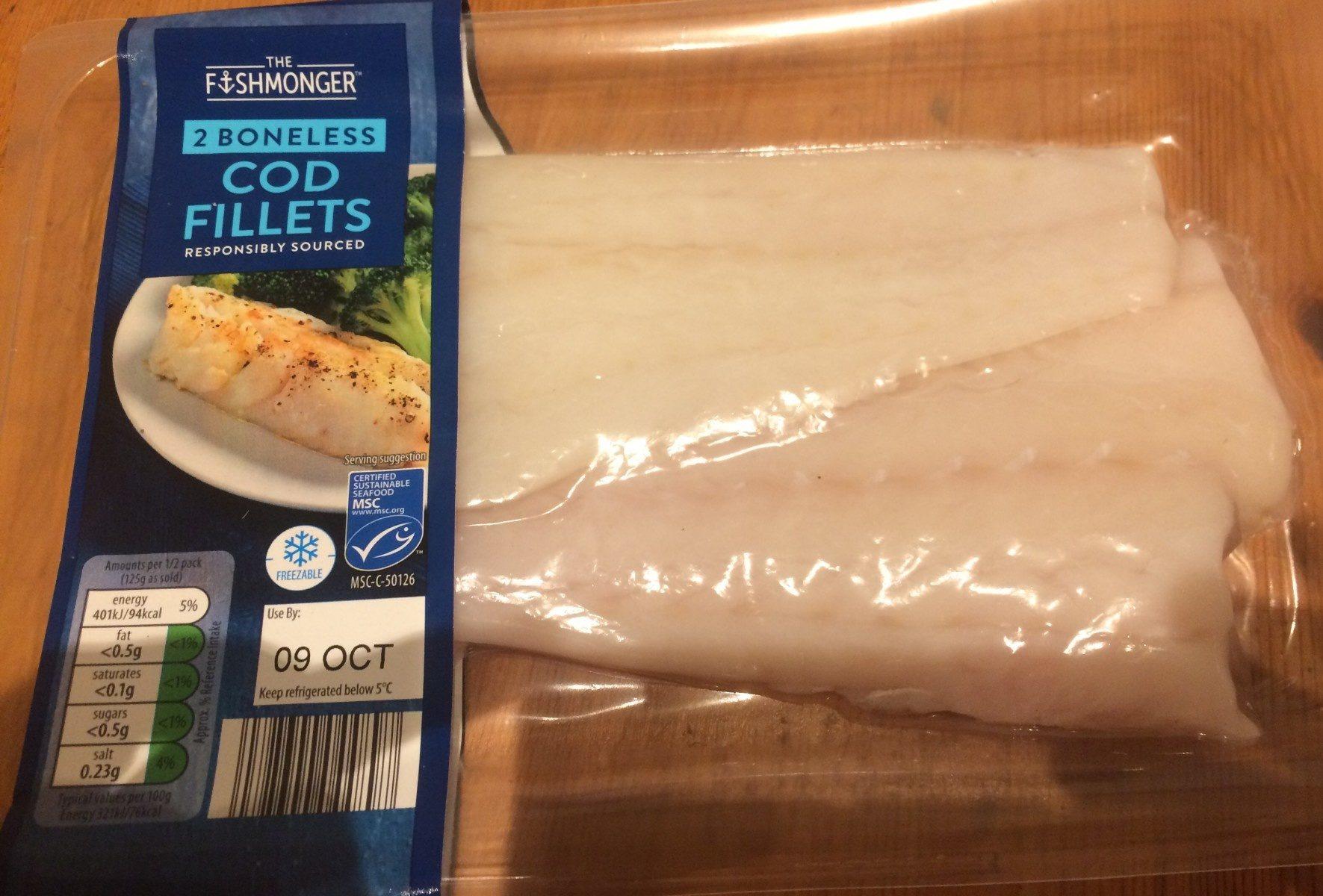 Cod fillets - Produit