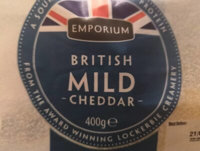 British mild cheddar - Produit - en