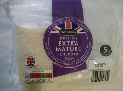 British extra mature Cheddar - Product