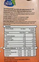 Soya unsweetened - Nutrition facts - en