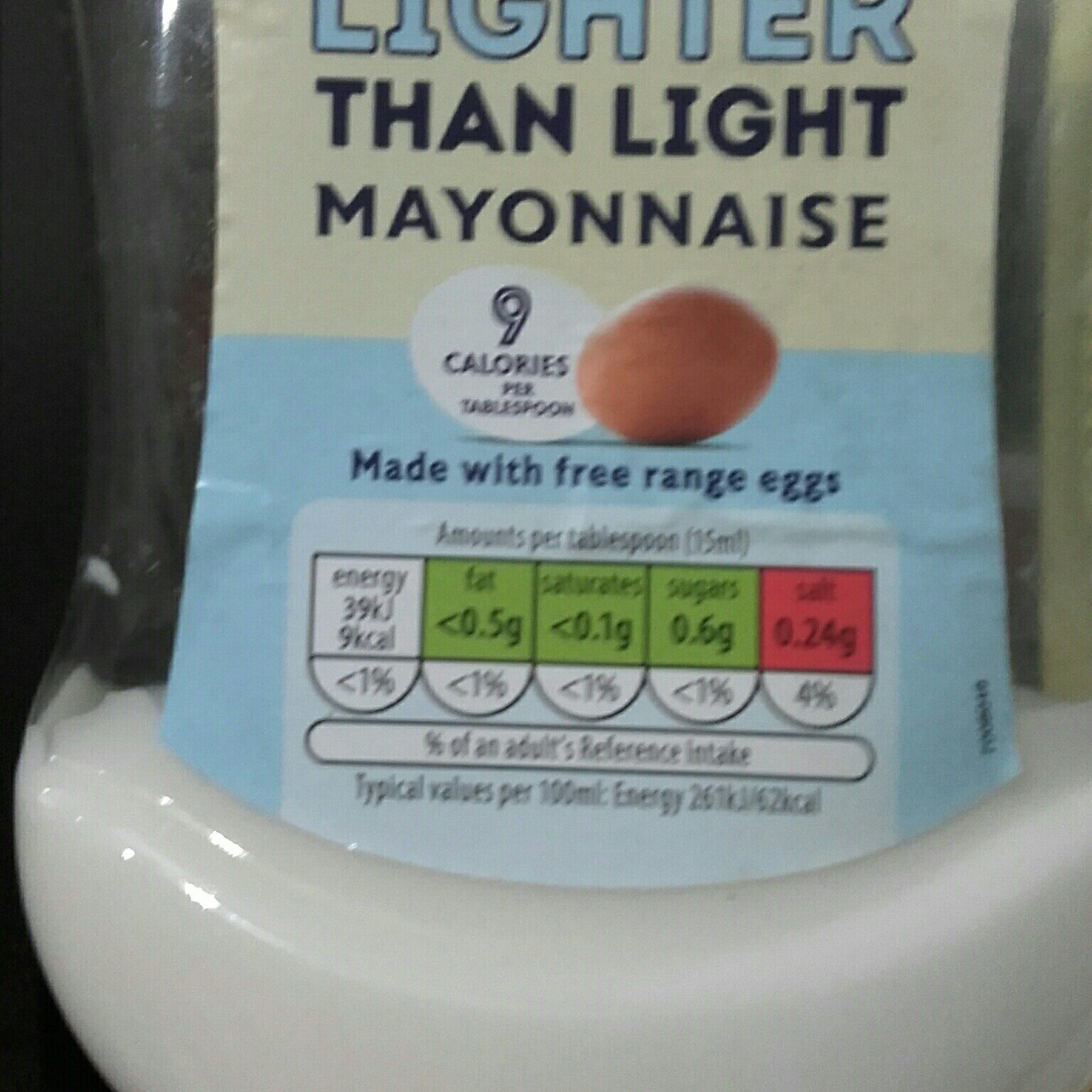 Lighter than light mayonnaise - Produit