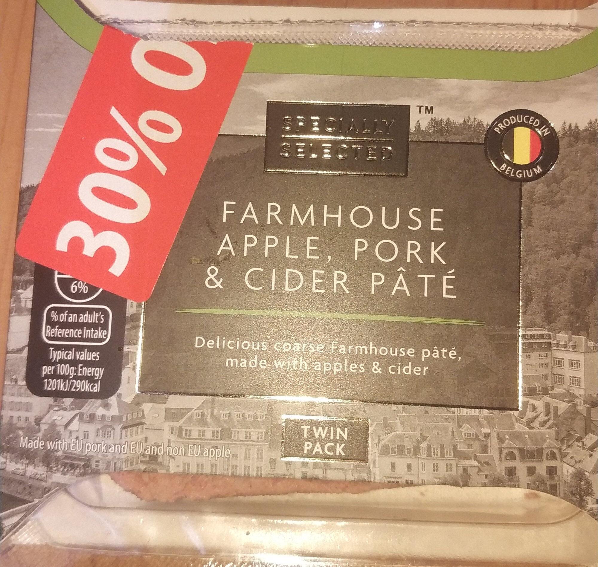 farmhouse apple, pork & cider pâté - Product - en