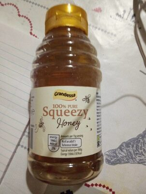100% pure squeeze honey - Product - en