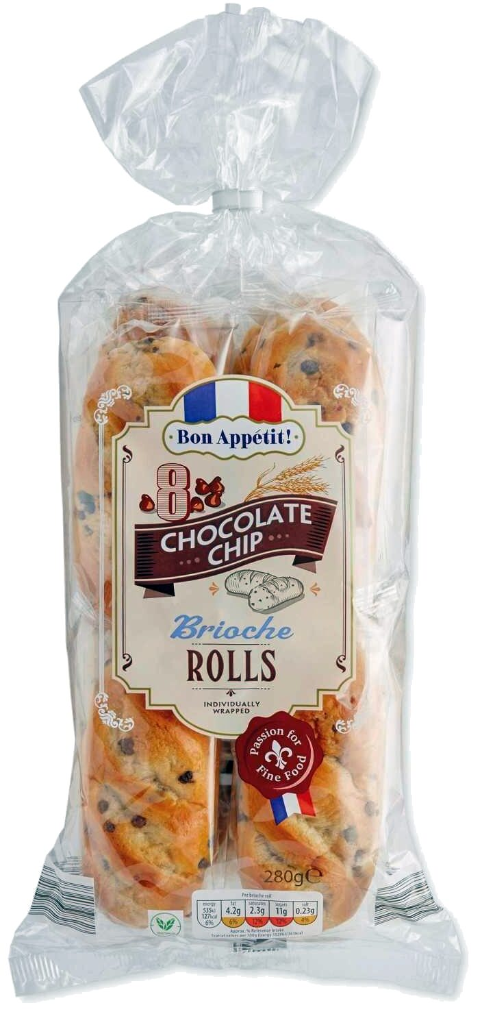Chocolate Chips Brioche Rolls - Product - en