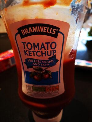 Tomato ketchup 50% less sugar and salt - Produit